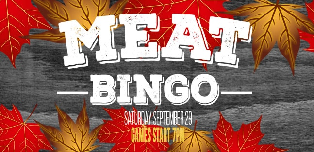 First Ever Meat Bingo!